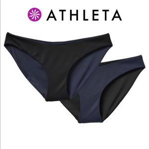🆕 Athleta / High Leg Reversible Bikini Bottom 🖤